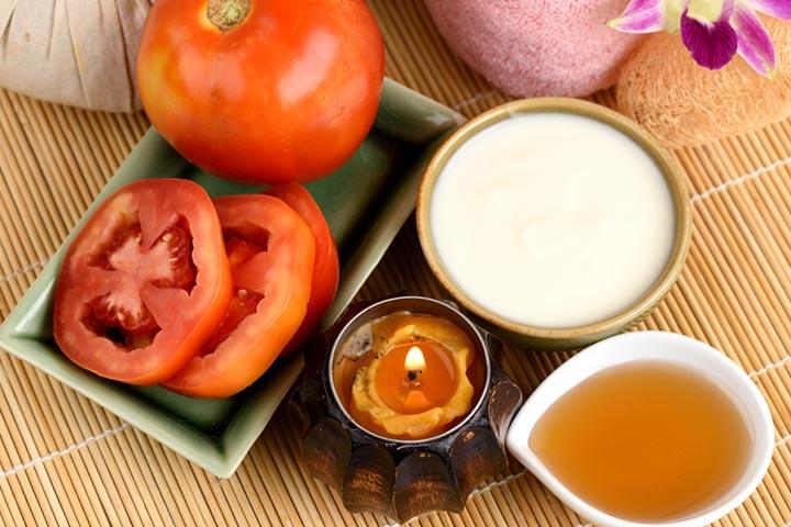 عصير الطماطم لعلاج حب الشباب بالبشرة الدهنية