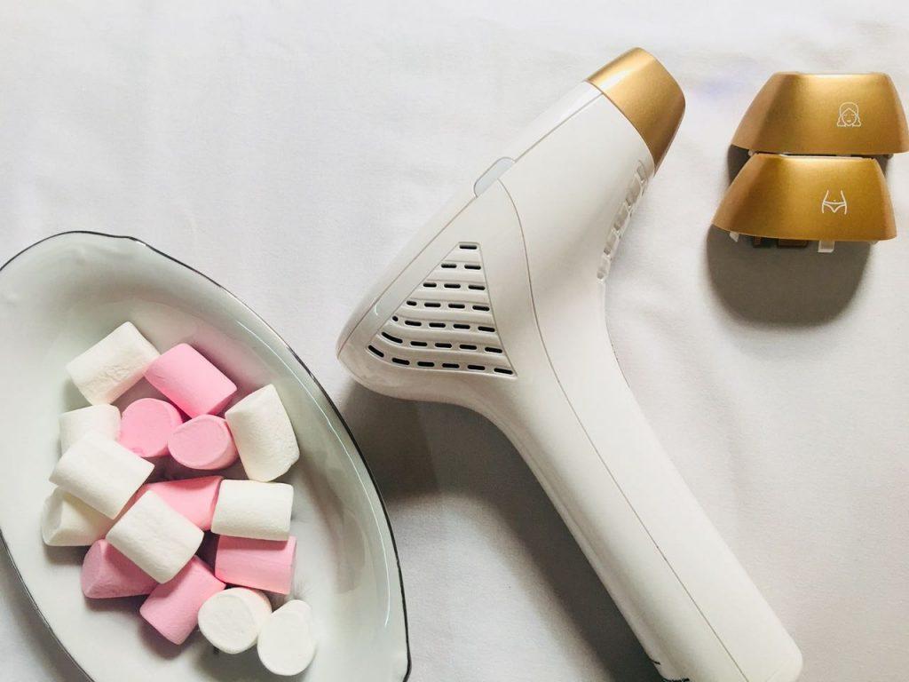 تجربة جهاز ازالة الشعر بالليزر المنزلي | تجارب الليزر المنزلي