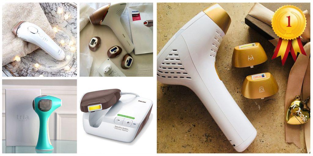 أفضل جهاز ليزر منزلي لإزالة الشعر 2018 | مقارنة بين افضل 5 اجهزة بالمنزل