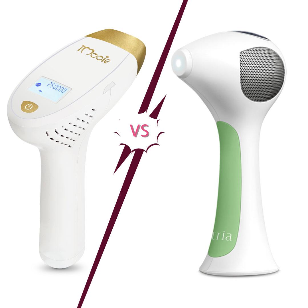 جهاز الليزر المنزلي تريا الجيل الرابع 4x لازالة الشعر جميلة دليل الليزر المنزلي