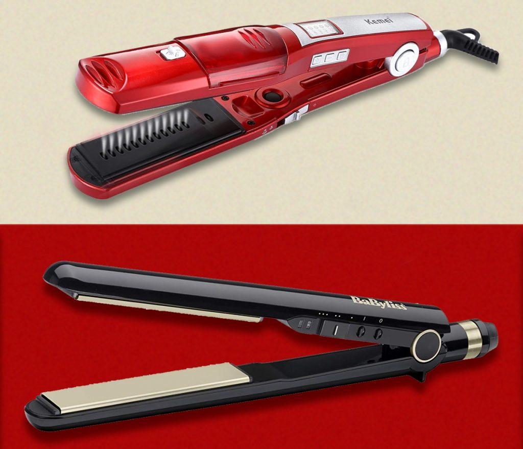ايهما افضل مكواة الشعر بالبخار ام السيراميك ؟