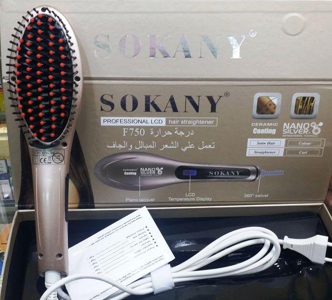 فرشاة الشعر سوكاني sokany | كيفية استخدامها و سعرها