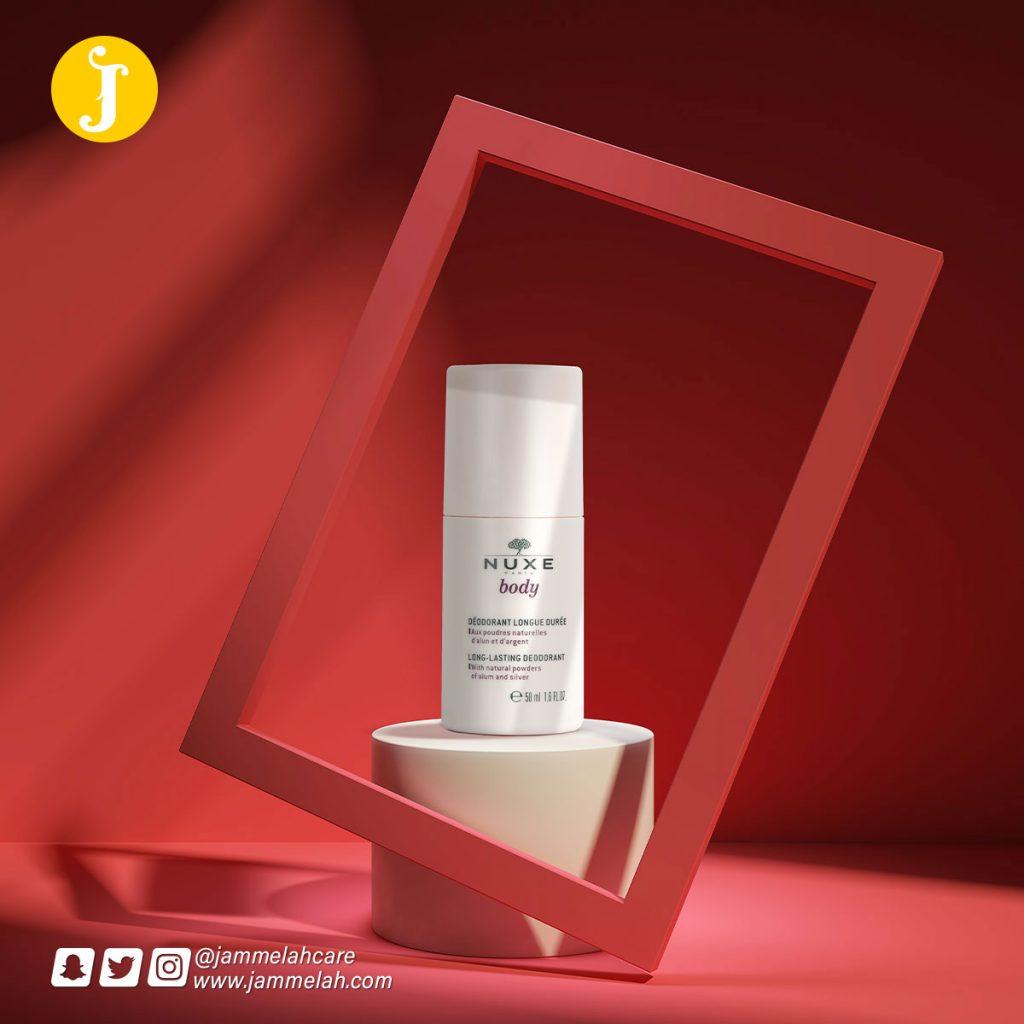 نوكس مزيل عرق طويل المفعول ريفيو كامل عنه Nuxe Body Long- Lasting Deodorant